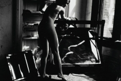 """Francesca Woodman (1958-1981) FROM \""""A WOMAN, A MIRROR--A WOMAN IS A MIRROR FOR A MAN\"""", 1975-78."""