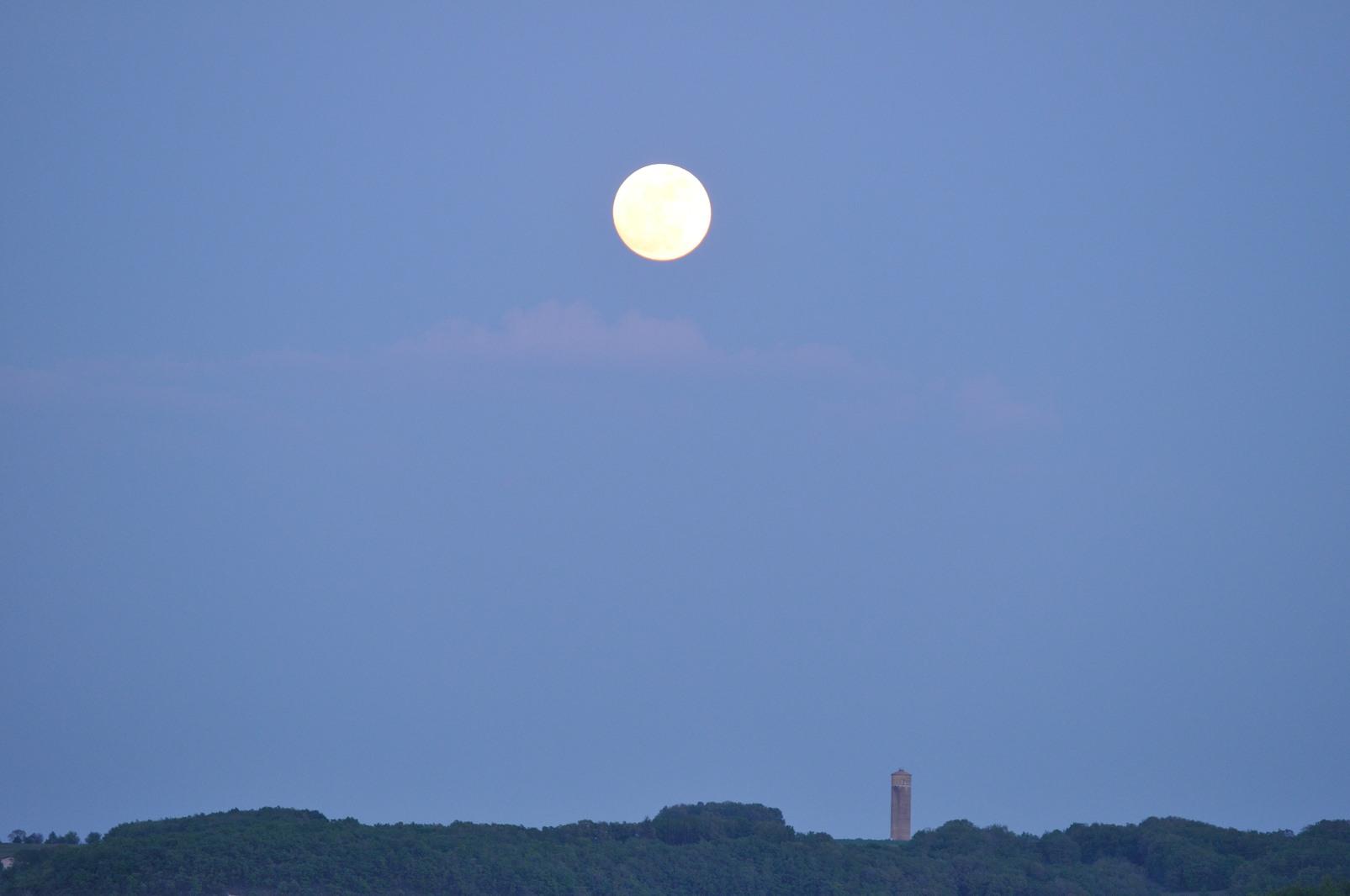 levée de lune